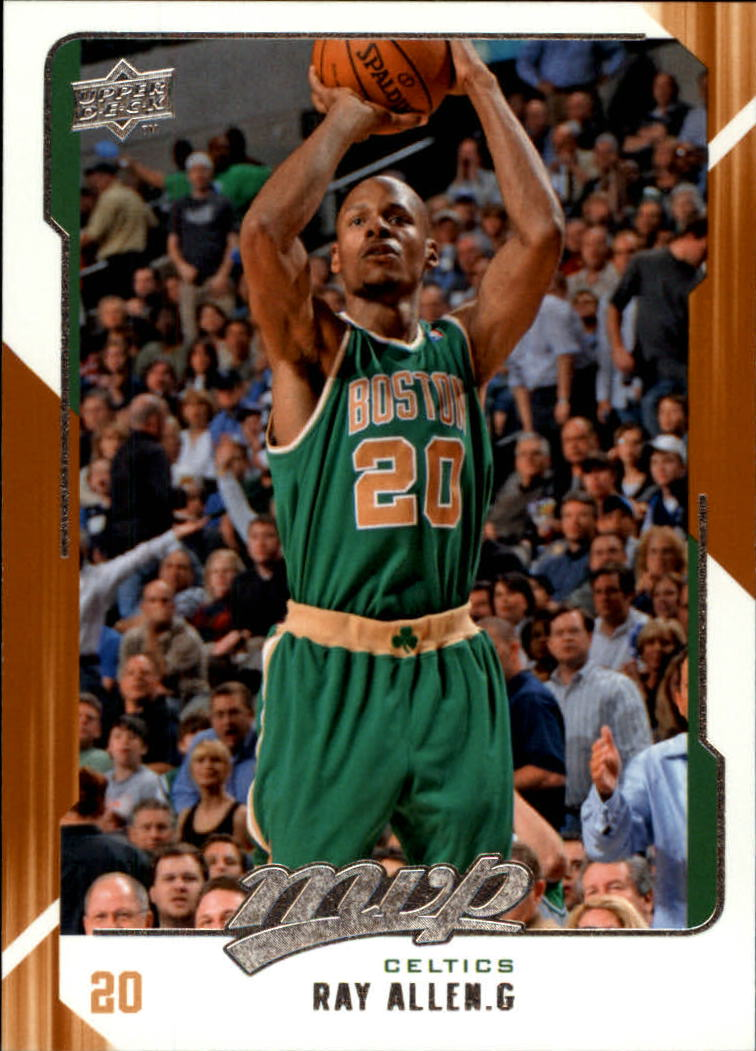 2008-09 Upper Deck MVP #10 Ray Allen