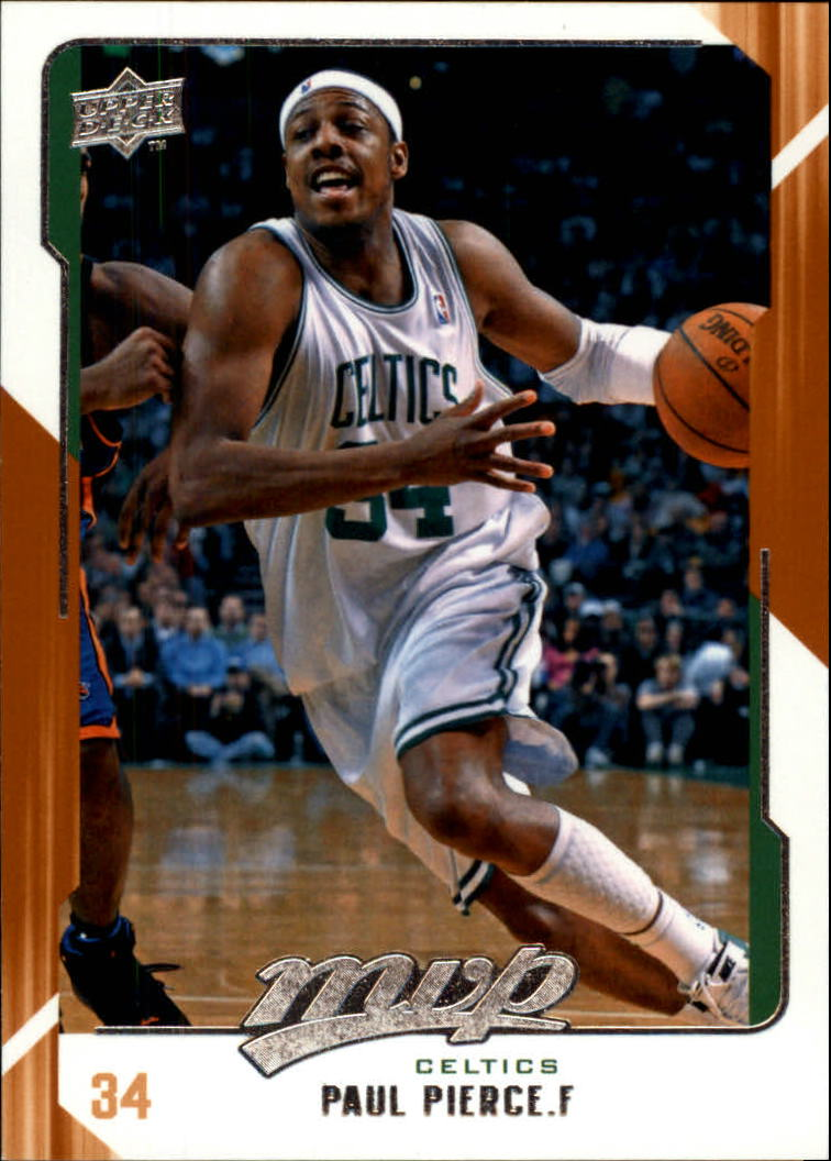 2008-09 Upper Deck MVP #11 Paul Pierce