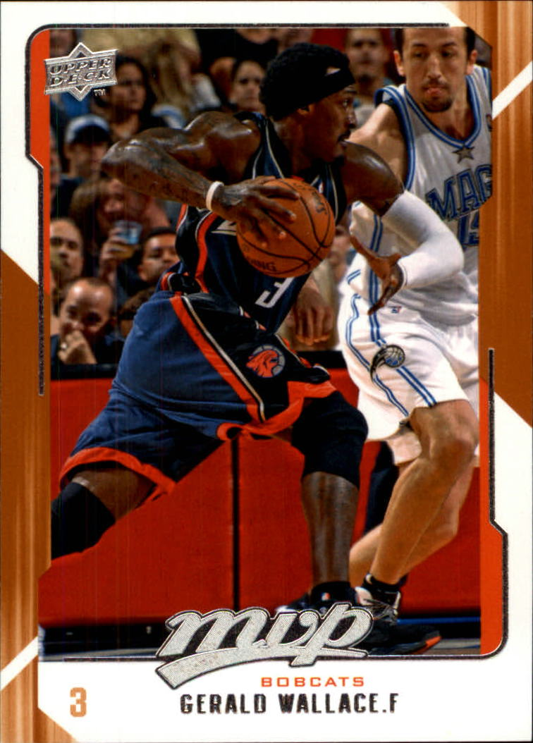 2008-09 Upper Deck MVP #17 Gerald Wallace