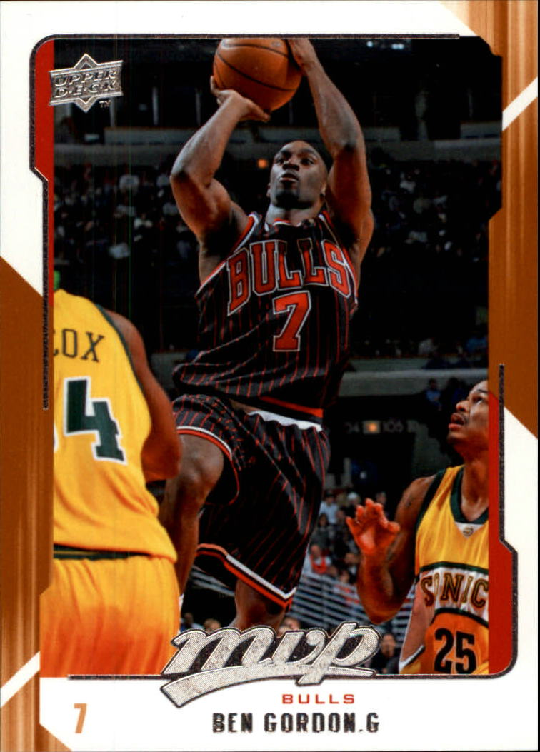 2008-09 Upper Deck MVP #23 Ben Gordon