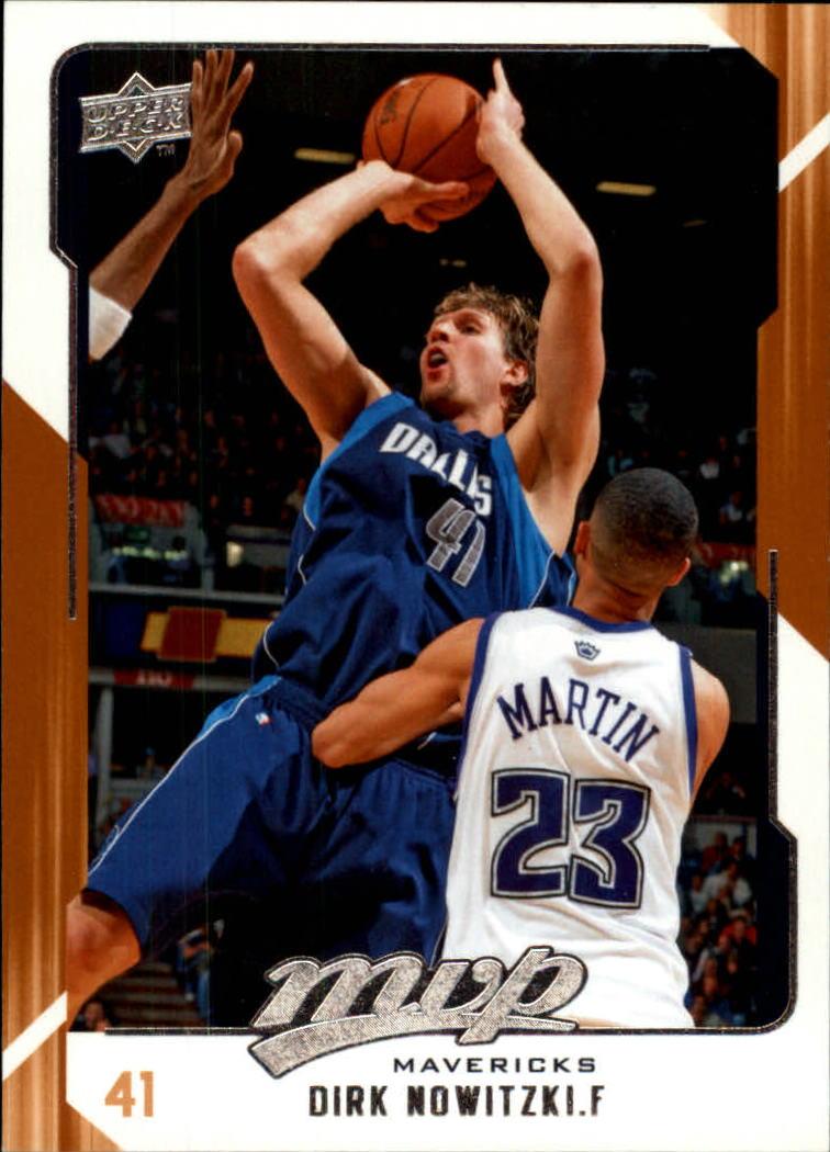 2008-09 Upper Deck MVP #30 Dirk Nowitzki