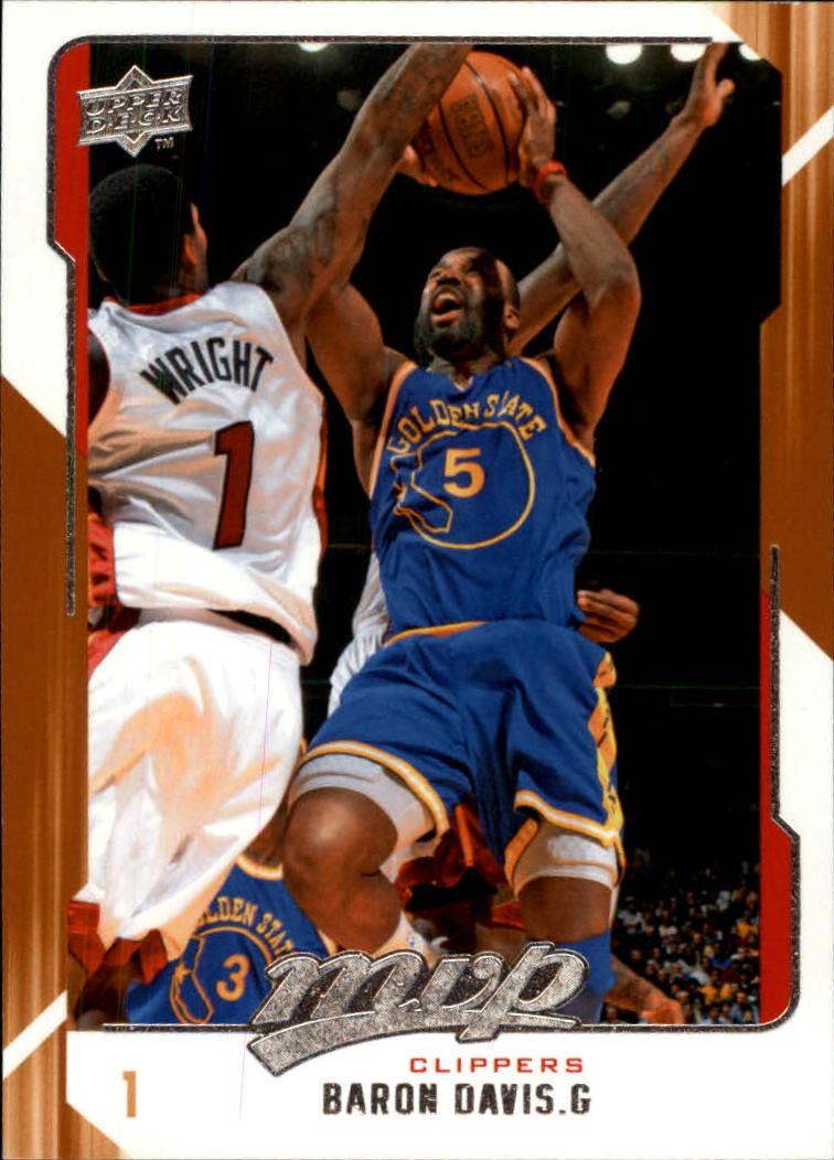 2008-09 Upper Deck MVP #48 Baron Davis
