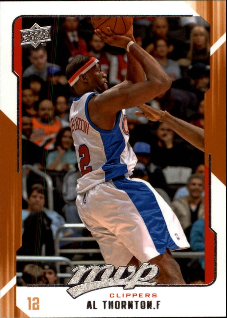 2008-09 Upper Deck MVP #66 Al Thornton