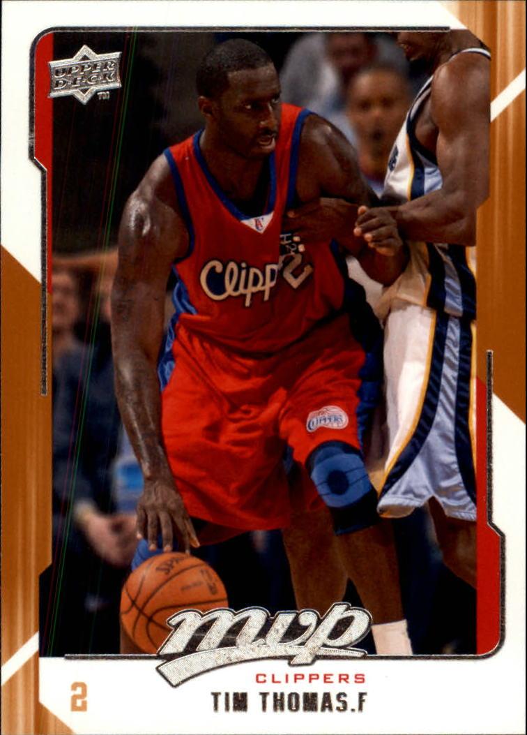 2008-09 Upper Deck MVP #68 Tim Thomas