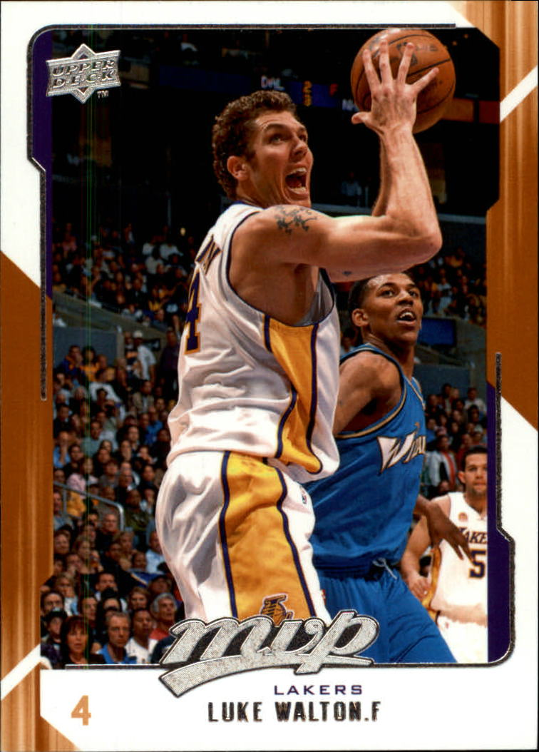 2008-09 Upper Deck MVP #73 Luke Walton