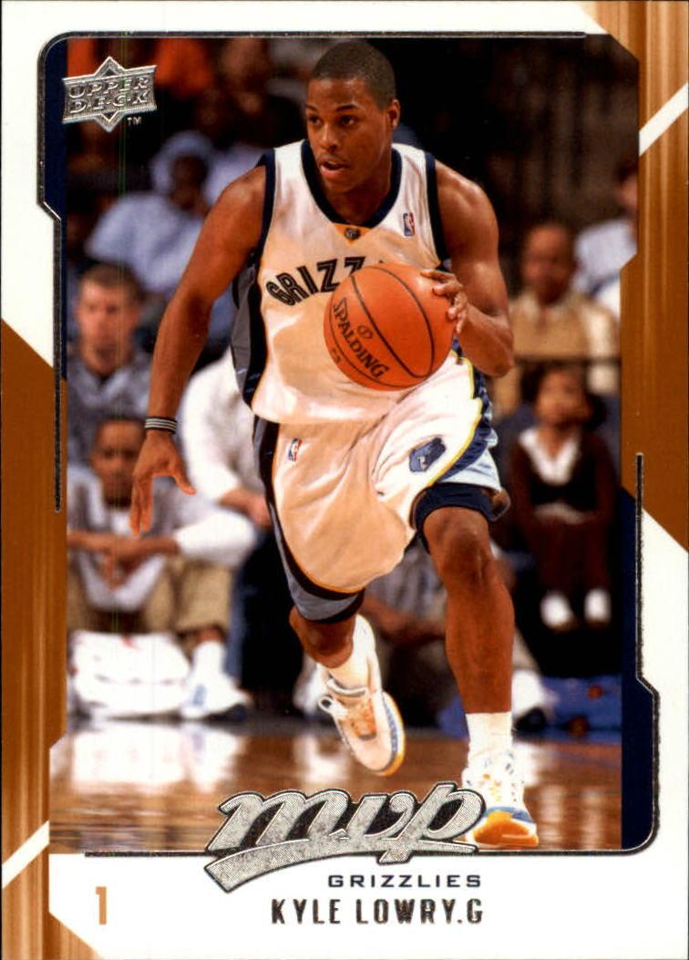 2008-09 Upper Deck MVP #76 Kyle Lowry