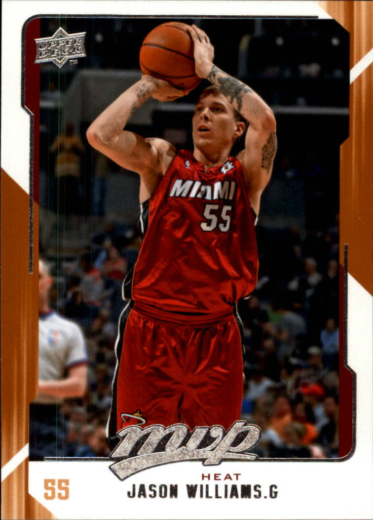 2008-09 Upper Deck MVP #83 Jason Williams