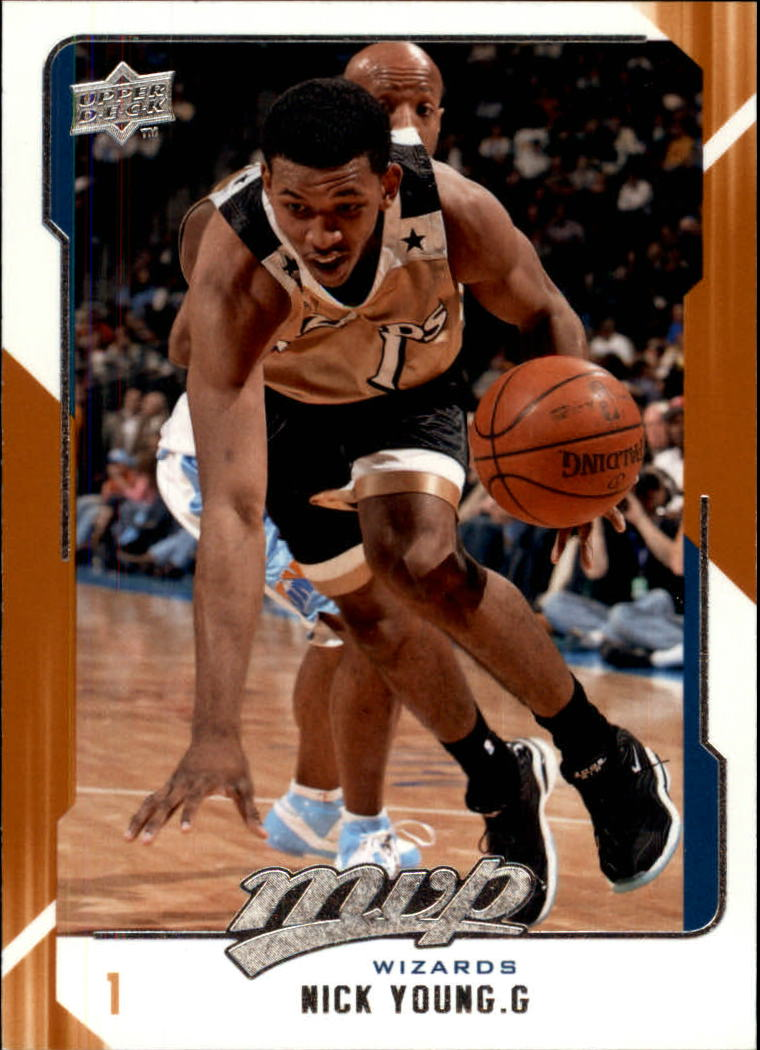 2008-09 Upper Deck MVP #170 Nick Young
