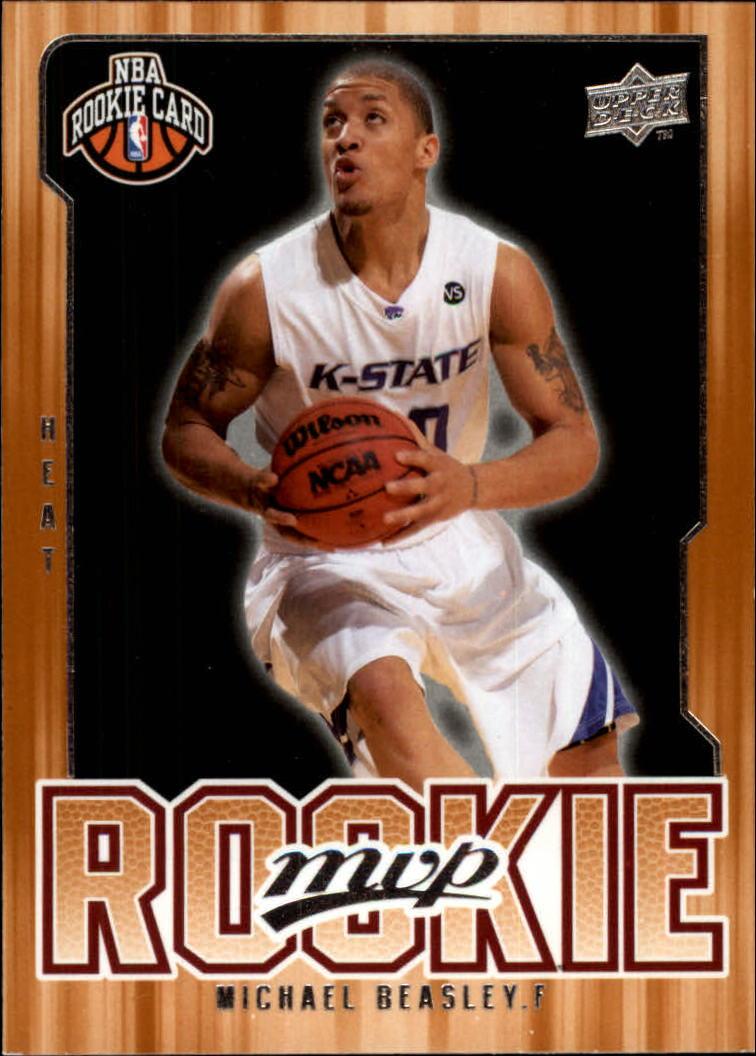 2008-09 Upper Deck MVP #202 Michael Beasley RC