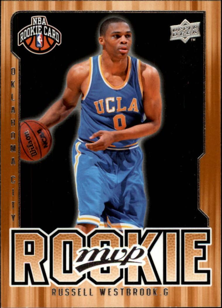 2008-09 Upper Deck MVP #204 Russell Westbrook RC