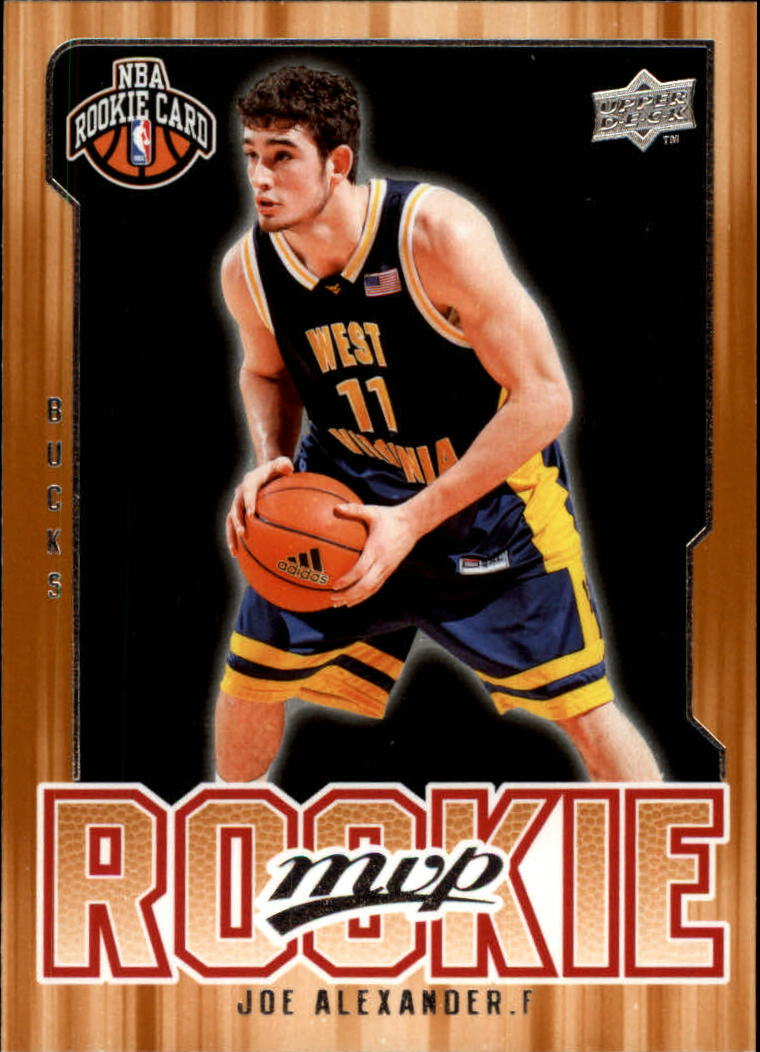 2008-09 Upper Deck MVP #208 Joe Alexander RC