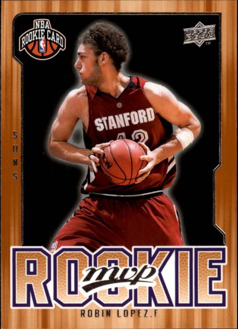 2008-09 Upper Deck MVP #215 Robin Lopez RC