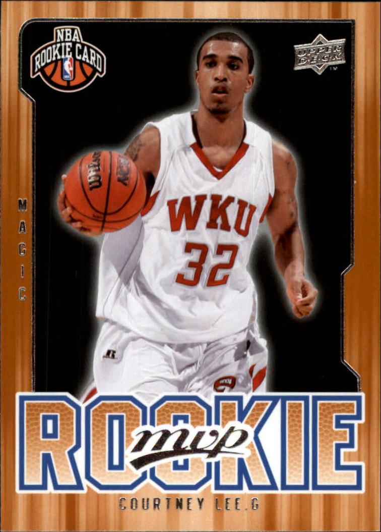2008-09 Upper Deck MVP #218 Courtney Lee RC