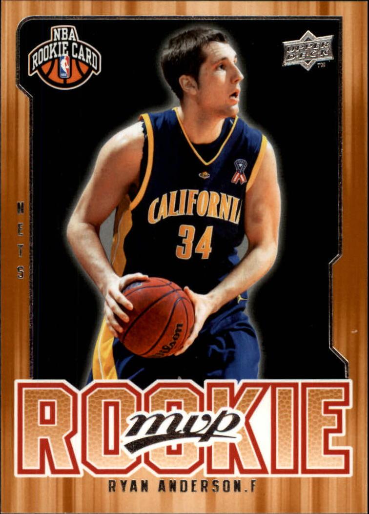2008-09 Upper Deck MVP #220 Ryan Anderson RC