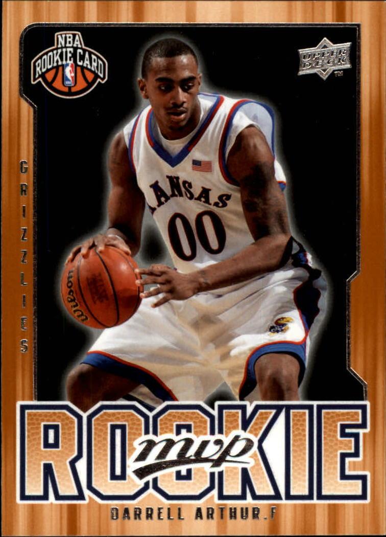 2008-09 Upper Deck MVP #223 Darrell Arthur RC