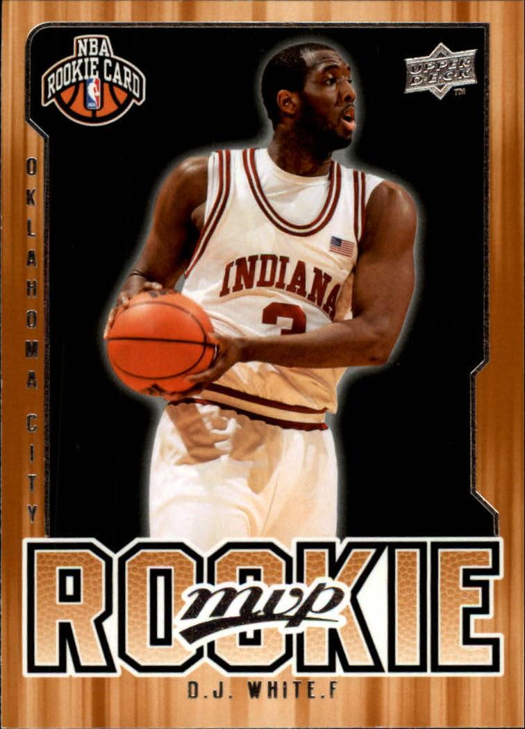 2008-09 Upper Deck MVP #225 D.J. White RC