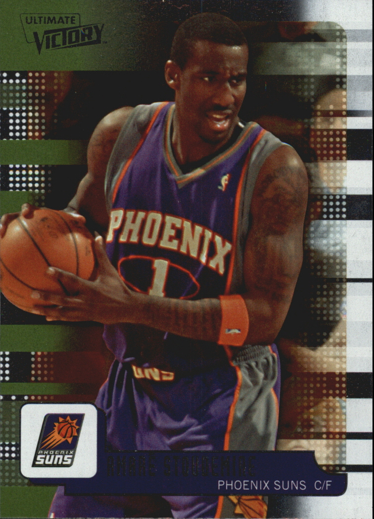147706fbf45 2008-09 Upper Deck MVP Ultimate Victory  45 Amare Stoudemire - NM-MT
