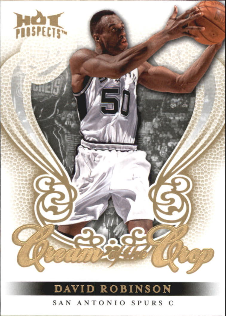 2008-09 Hot Prospects Cream of the Crop #CC23 David Robinson