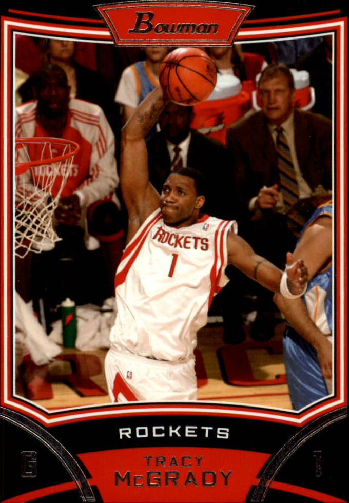 2008-09 Bowman #1 Tracy McGrady