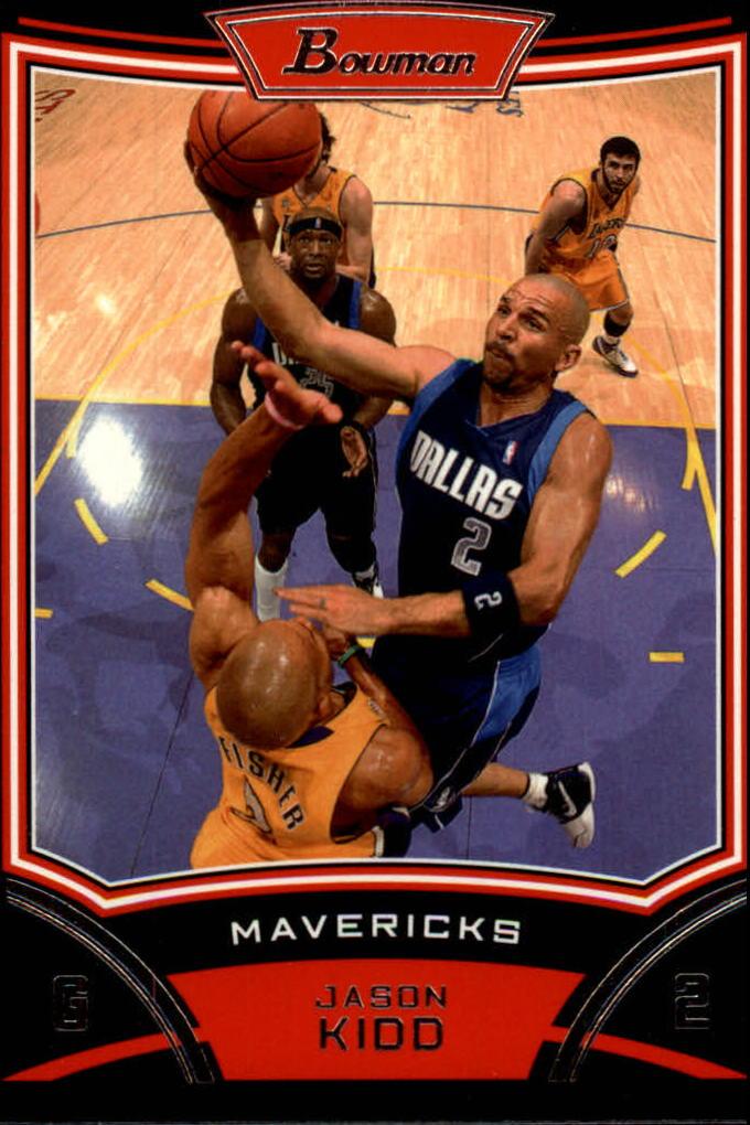 2008-09 Bowman #2 Jason Kidd