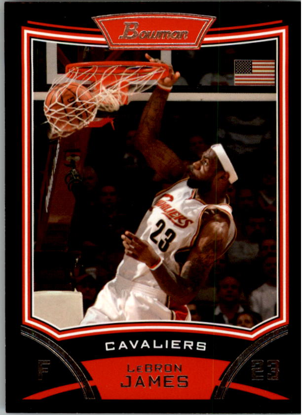 2008-09 Bowman #3 LeBron James