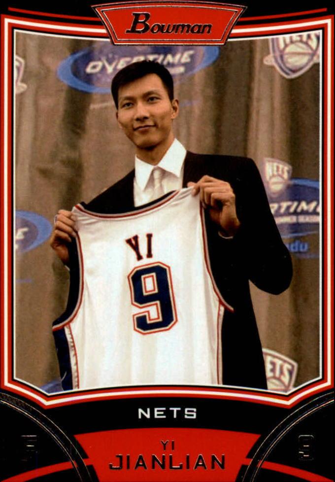 2008-09 Bowman #9 Yi Jianlian