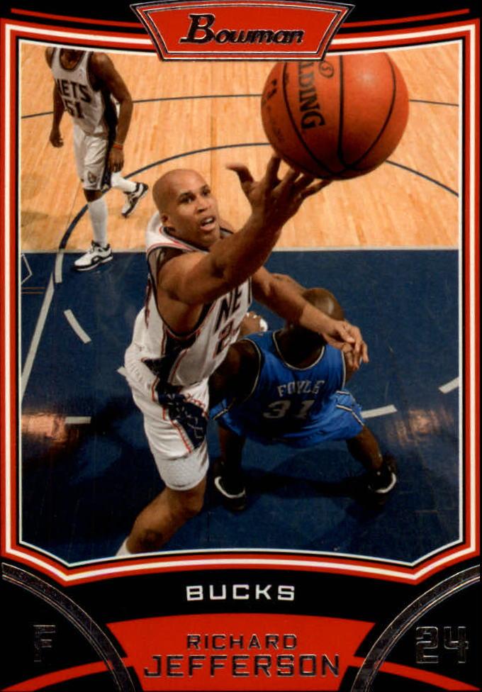 2008-09 Bowman #11 Richard Jefferson