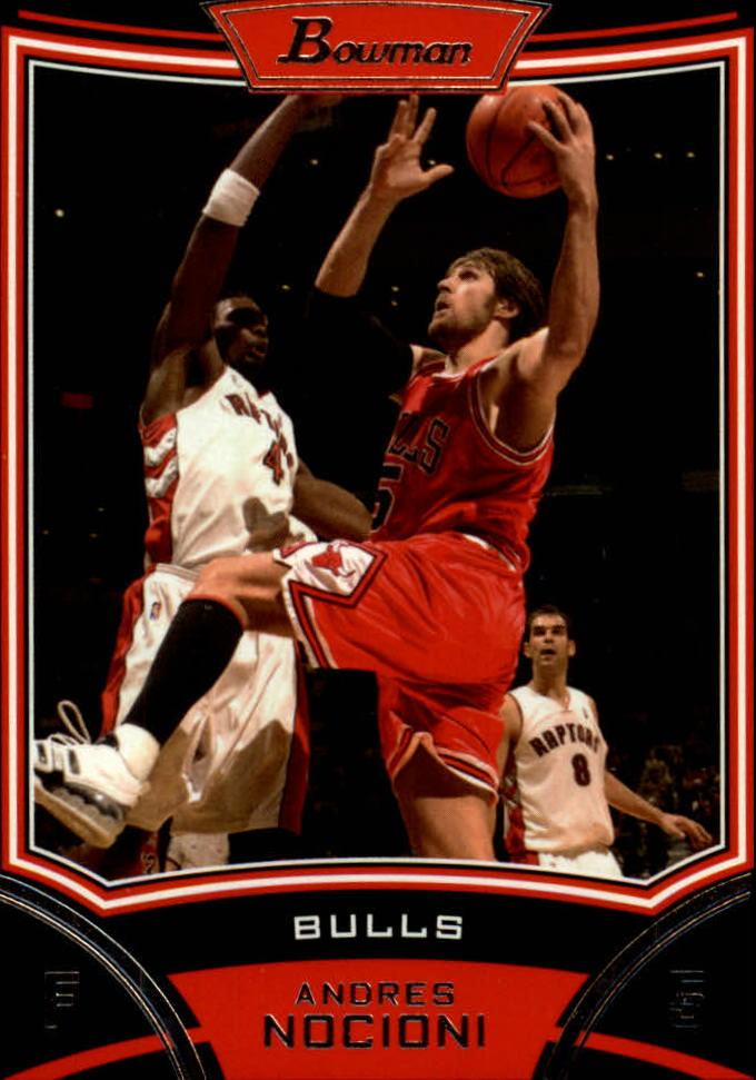 2008-09 Bowman #14 Andres Nocioni