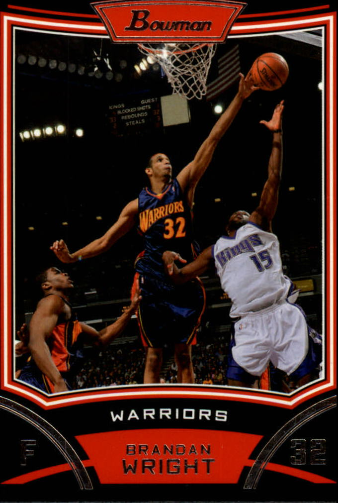 2008-09 Bowman #31 Brandan Wright