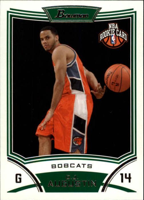 2008-09 Bowman #119 D.J. Augustin RC