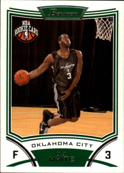 2008-09 Bowman #135 D.J. White RC