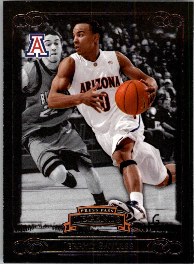 2008-09 Press Pass Legends #1 Jerryd Bayless