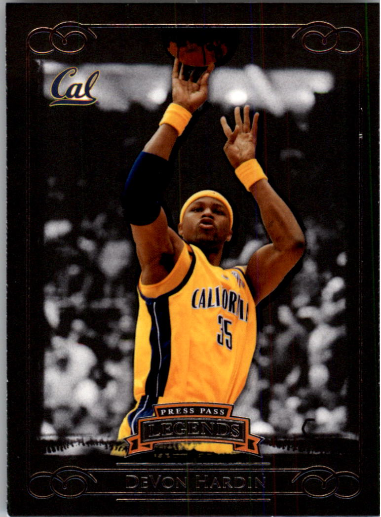 2008-09 Press Pass Legends #4 DeVon Hardin