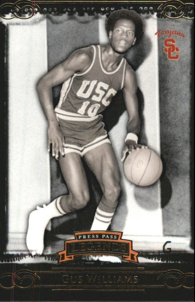 2008-09 Press Pass Legends Gold #68 Gus Williams