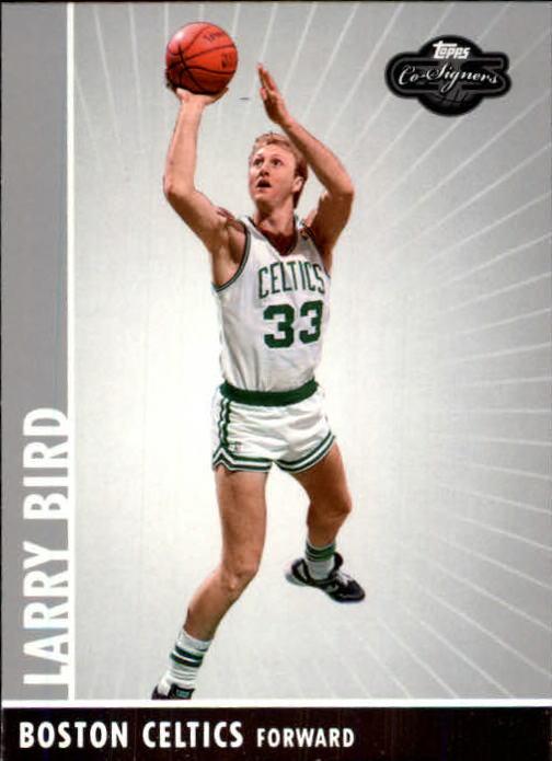 2008-09 Topps Co-Signers #93 Larry Bird