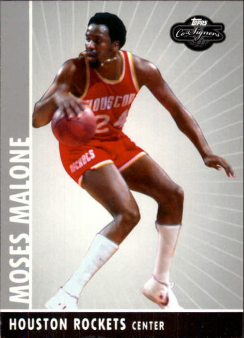 2008-09 Topps Co-Signers #95 Moses Malone