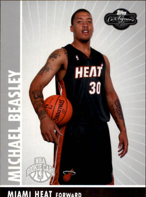 2008-09 Topps Co-Signers #102 Michael Beasley RC