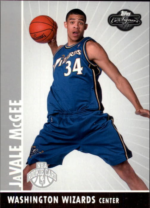 2008-09 Topps Co-Signers #117 JaVale McGee RC