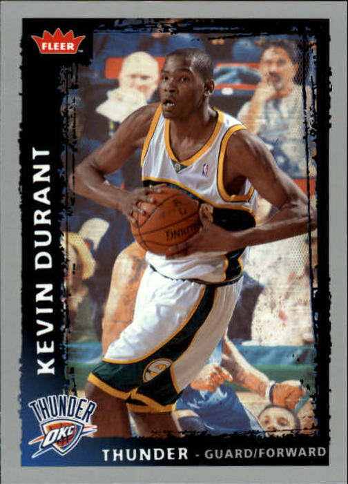 2008-09 Fleer #195 Kevin Durant