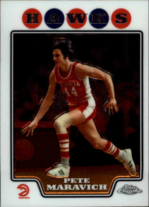 2008-09 Topps Chrome #177 Pete Maravich