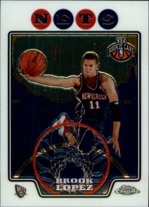 2008-09 Topps Chrome #190 Brook Lopez RC