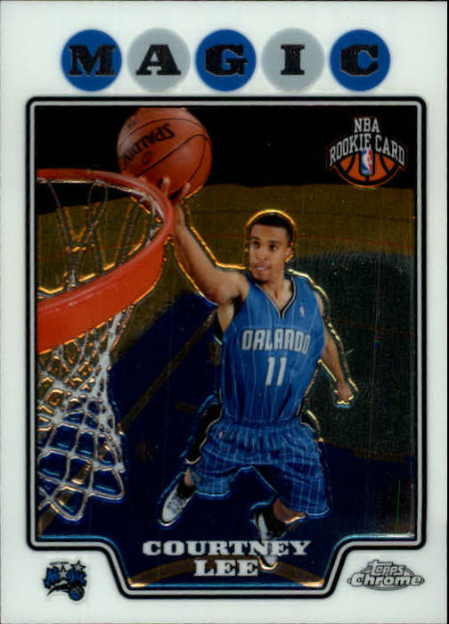 2008-09 Topps Chrome #201 Courtney Lee RC