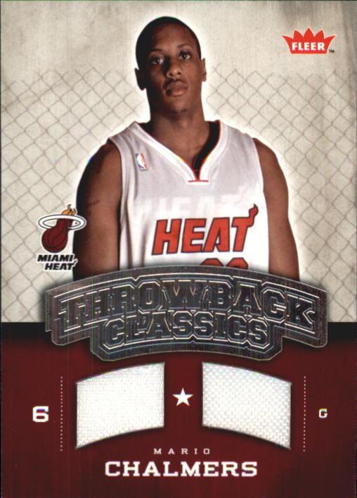 2008-09 Fleer NBA Classics #NBAMC Mario Chalmers