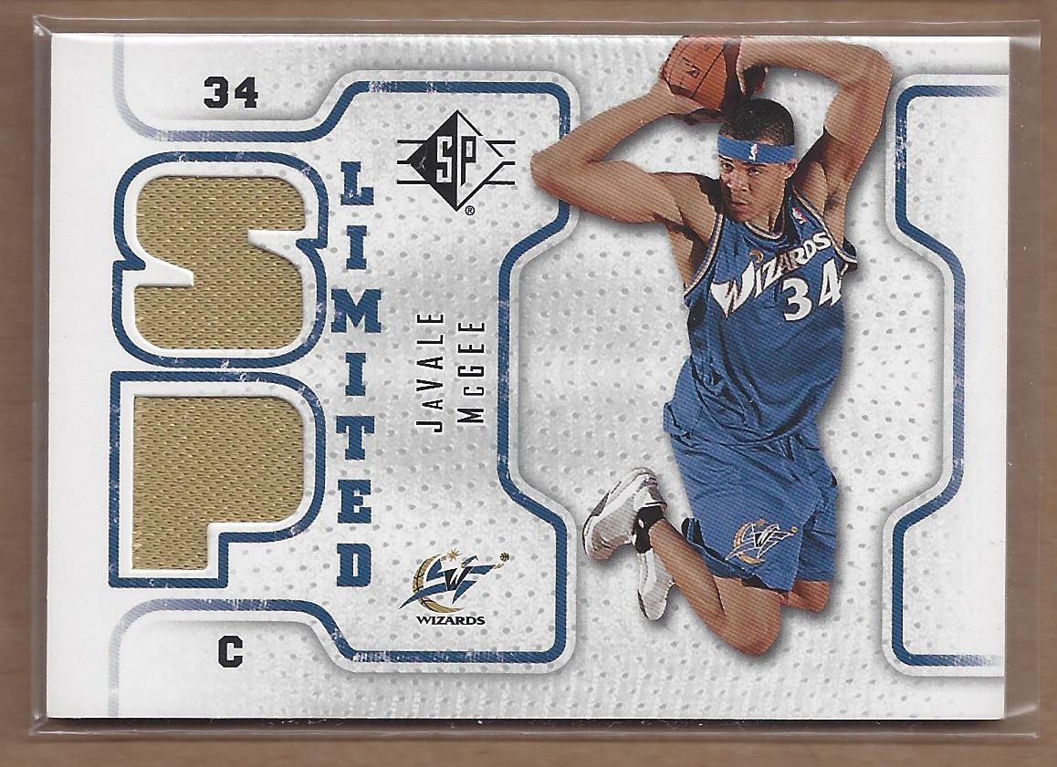 2008-09 SP Authentic Limited Memorabilia #SPLJM Javale McGee