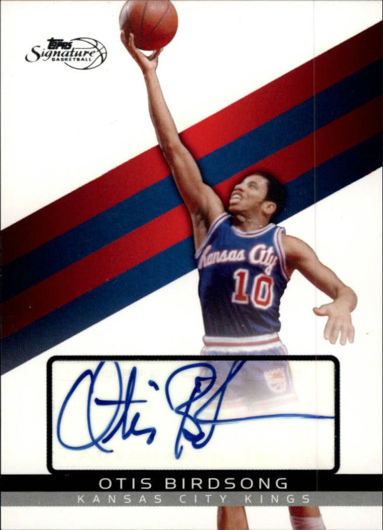 2008-09 Topps Signature Autographs #TSAOB Otis Birdsong/1199