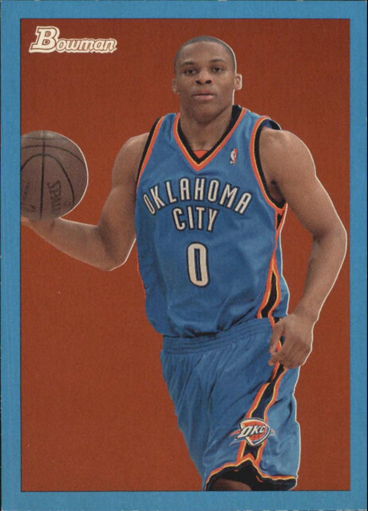 d076f46cb741d5 2009-10 Bowman 48 Blue  55 Russell Westbrook