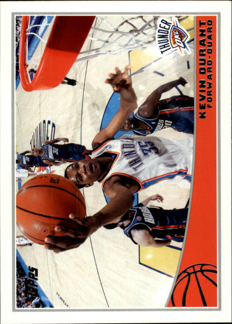 2009-10 Topps #211 Kevin Durant
