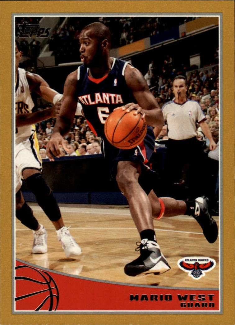 2009-10 Topps Gold #11 Mario West