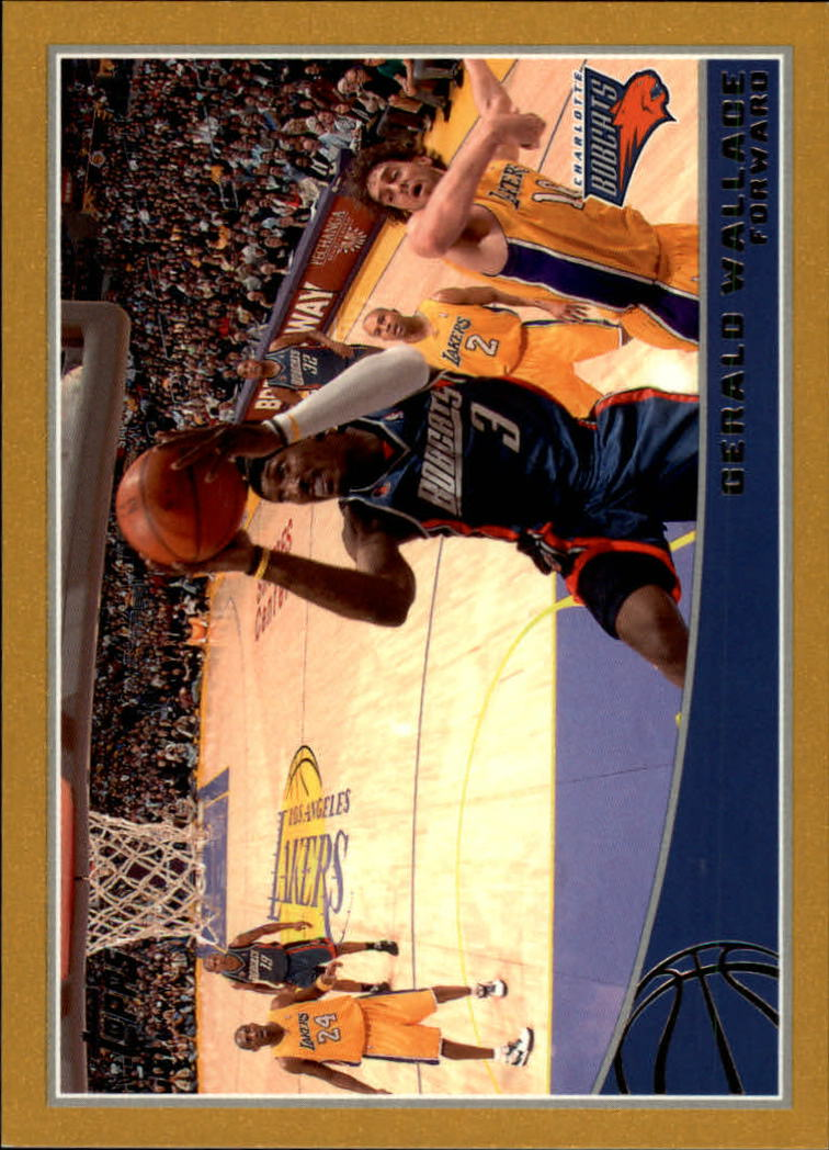 2009-10 Topps Gold #23 Gerald Wallace