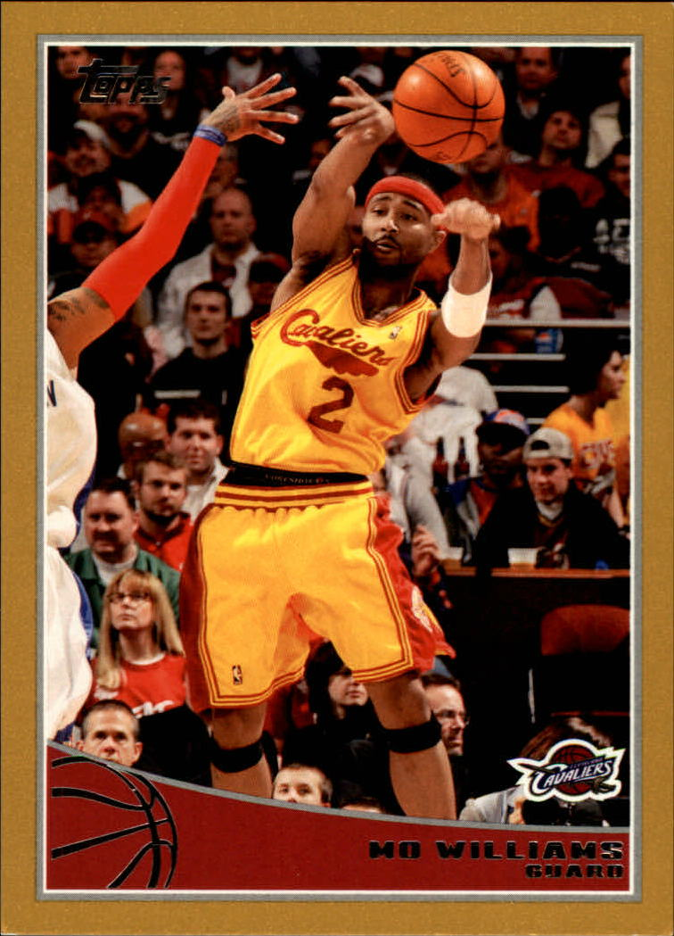 2009-10 Topps Gold #43 Mo Williams
